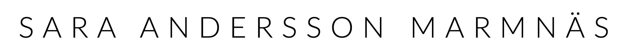 SARA ANDERSSON MARMNÄS Logo